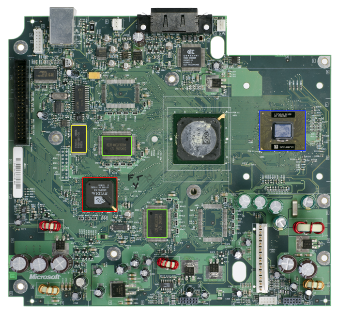 Xbox-Motherboard-Rev1 by Evan-Amos